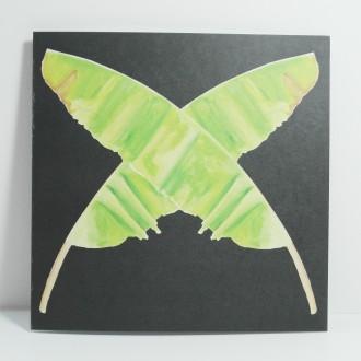 'Cross' illustrated watercolour greetings card
