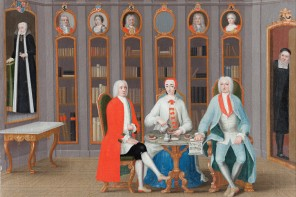 Carl Fredrik Svan - The Stenbock family in their library at Rånäs