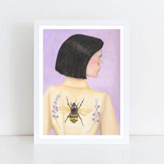 Kimono I' - A3 Heavyweight Art Print